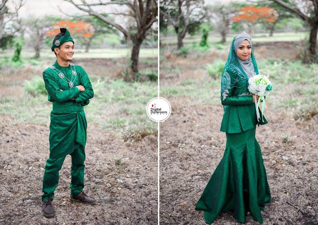 maisarah & adzim jurugambar perkahwinan utara kedah perlis malaysia digitaldarkroom studio 1