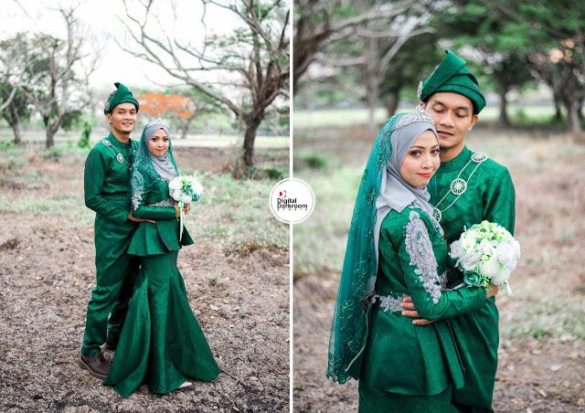 maisarah & adzim jurugambar perkahwinan utara kedah perlis malaysia digitaldarkroom studio 2