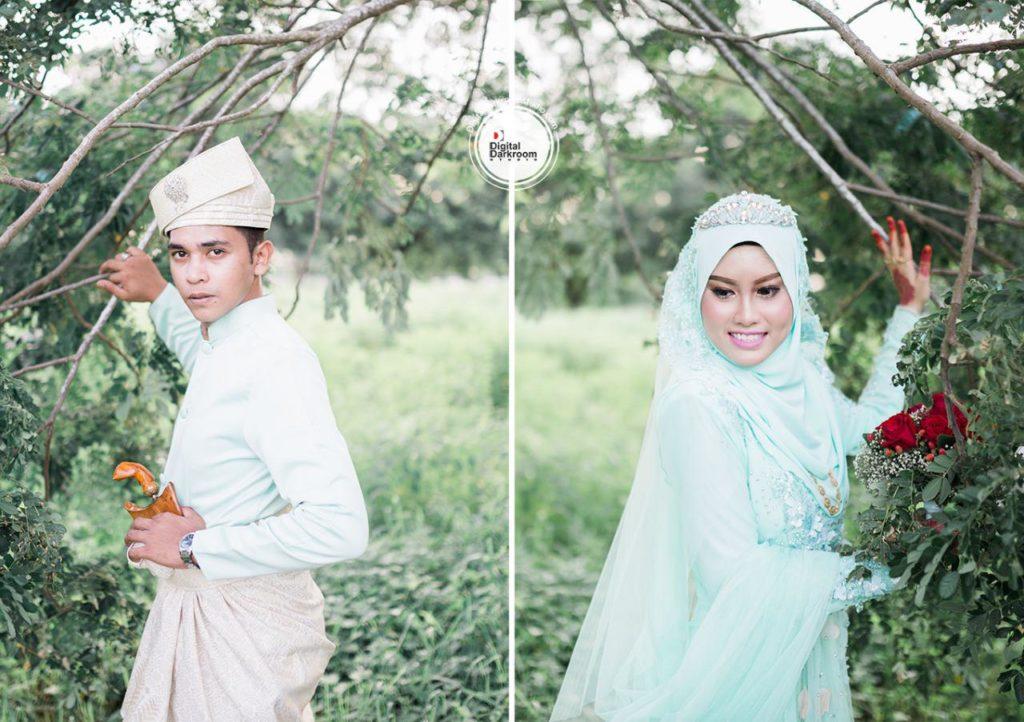 digital darkroom studio jurugambar perkahwinan majlis perkahwinan faris izyani 4
