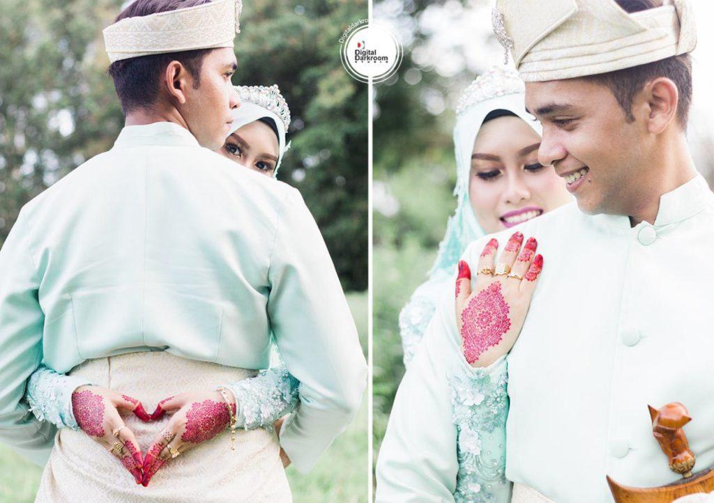digital darkroom studio jurugambar perkahwinan majlis perkahwinan faris izyani 5