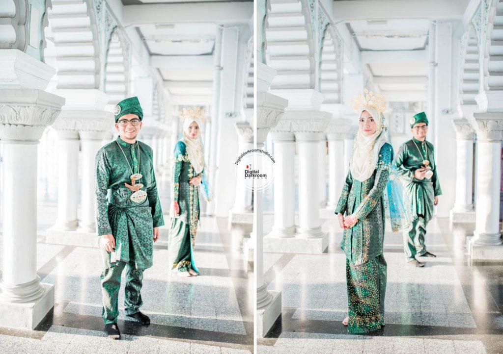 jurugambar perkahwinan utara kedah digital darkroom studio ady mirah
