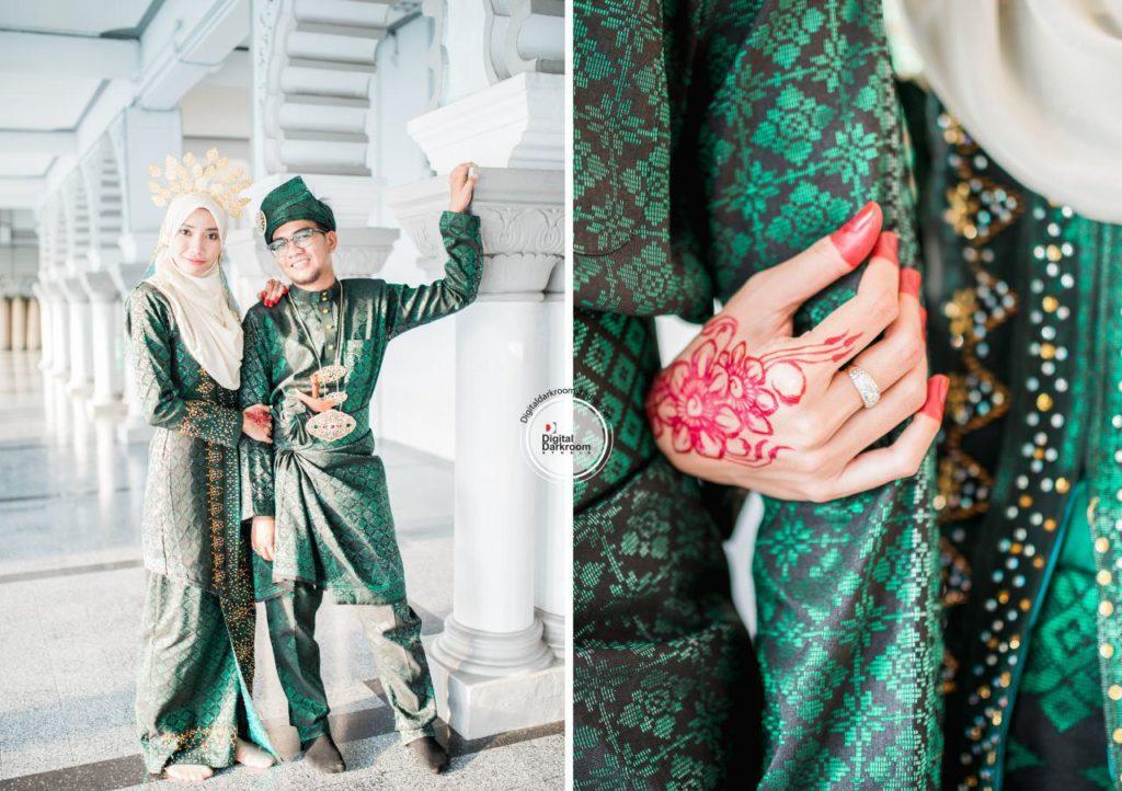 jurugambar perkahwinan utara kedah digital darkroom studio ady mirah 2