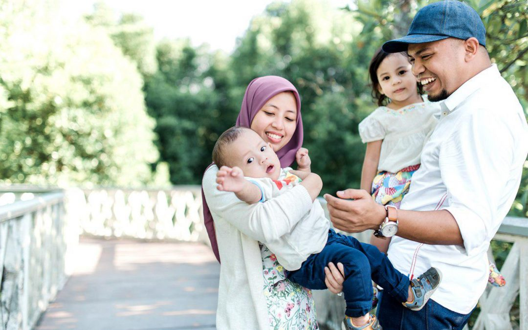 Syukhairy  + Nadia | Family Portraiture