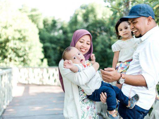 Syukhairy  + Nadia | Family Portraiture